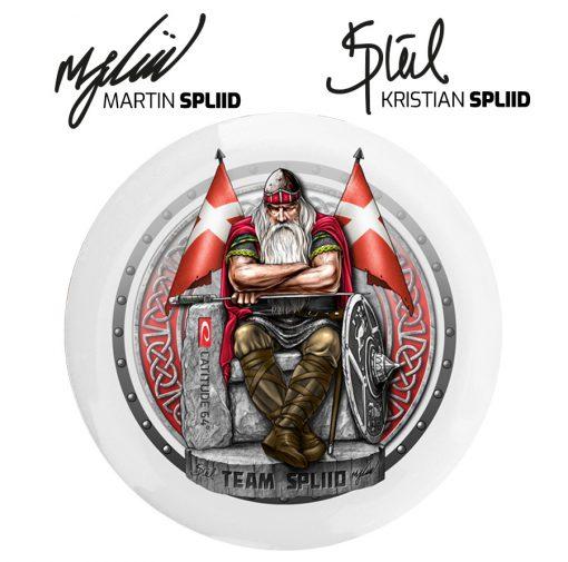 Team Spliid Holger Danske Disc Golf Disc
