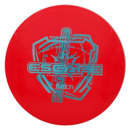 Dynamic Discs Escape Fuzion Misprint Disc Golf Fairway Driver