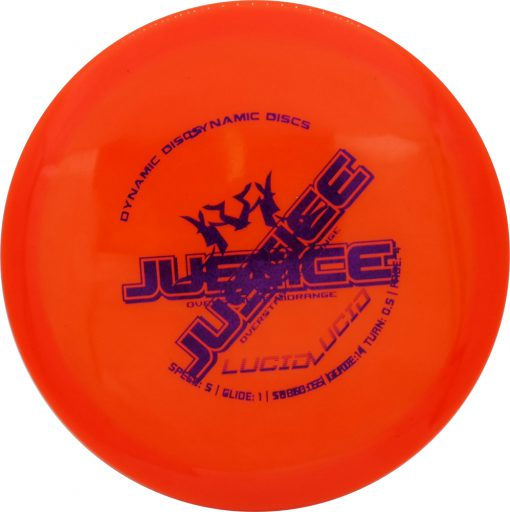 Dynamic Discs Justice Misprint Lucid Disc Golf