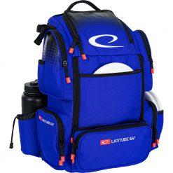 latitude 64 luxury e4 backpack blue right