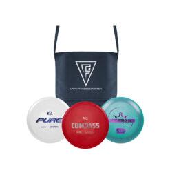 FrisbeeSport Disc Golf Starter Sæt inkl. taske