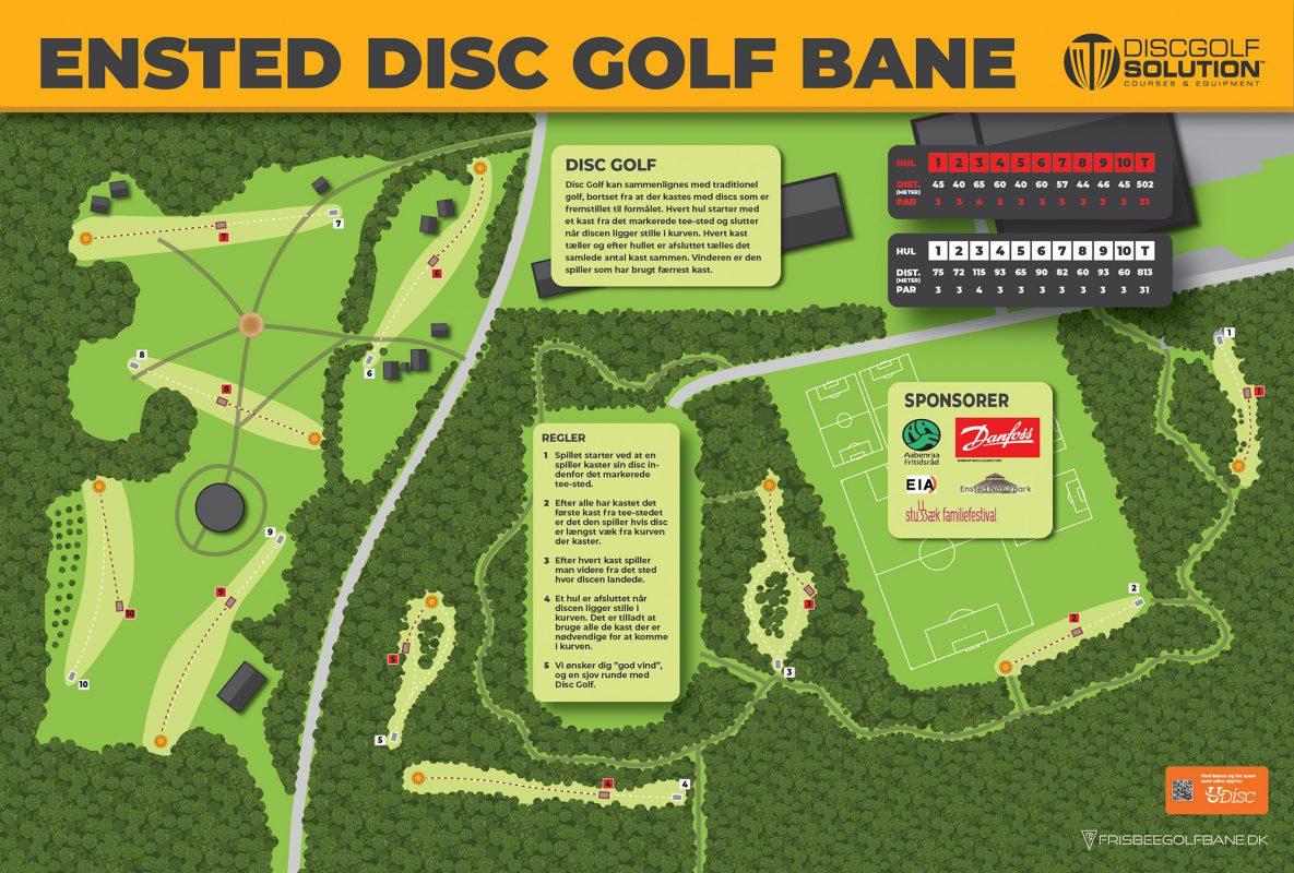 Ensted Disc Golf Bane