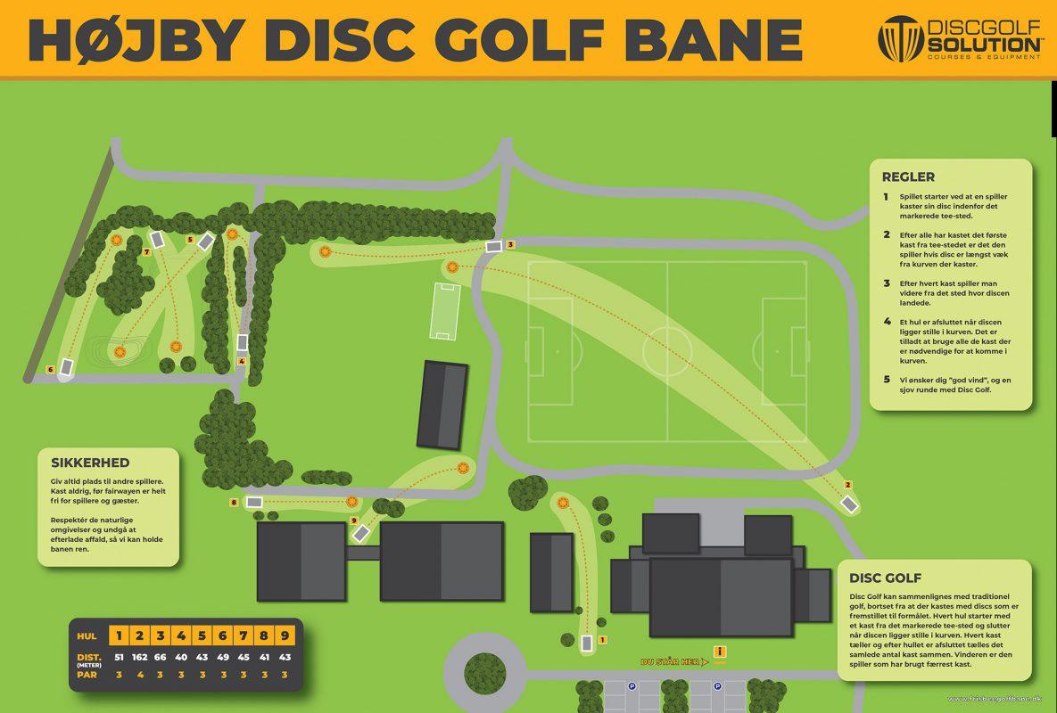 Højby Disc Golf Bane